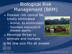biological risk management brm45
