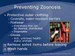 preventing zoonosis