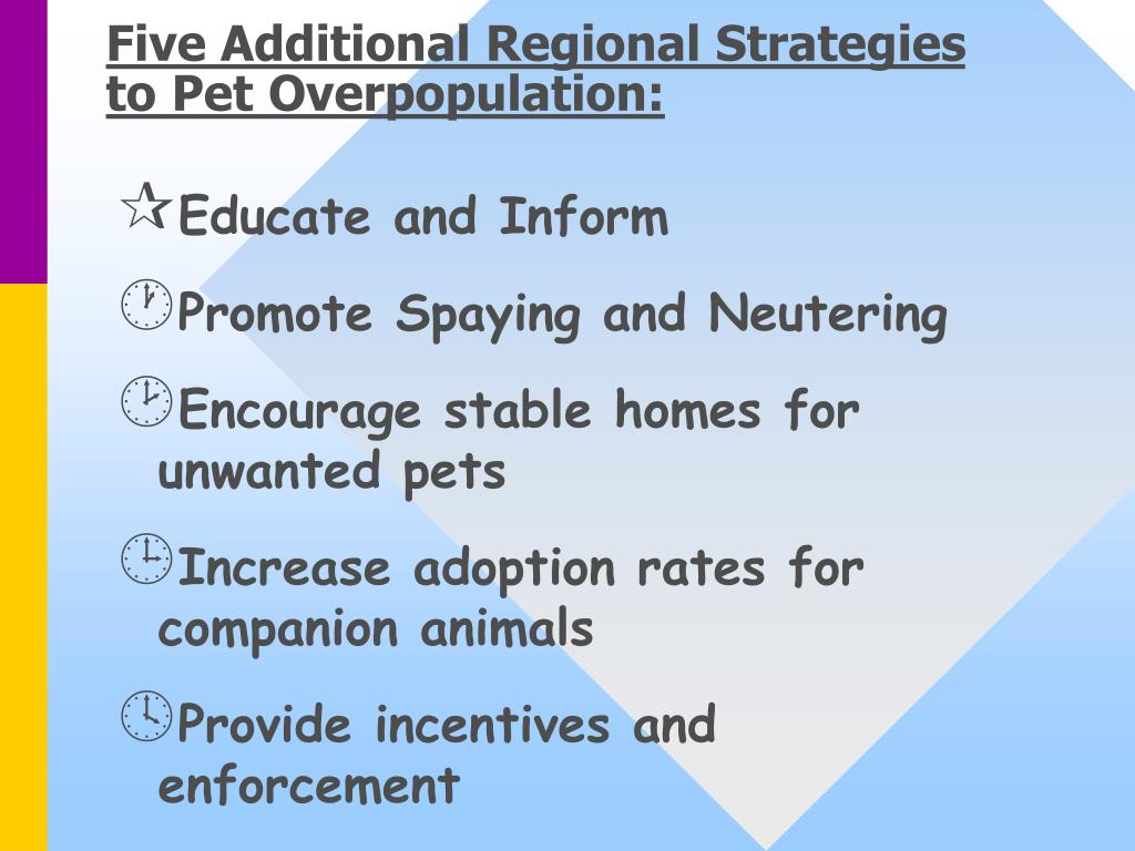 Five Additional Regional Strategies to