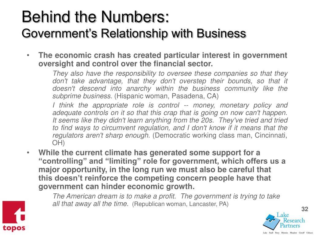 Behind the Numbers: