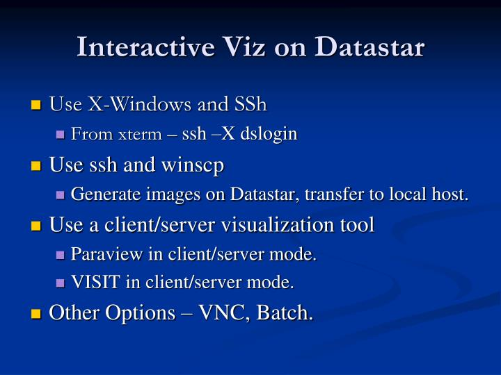 Interactive viz on datastar