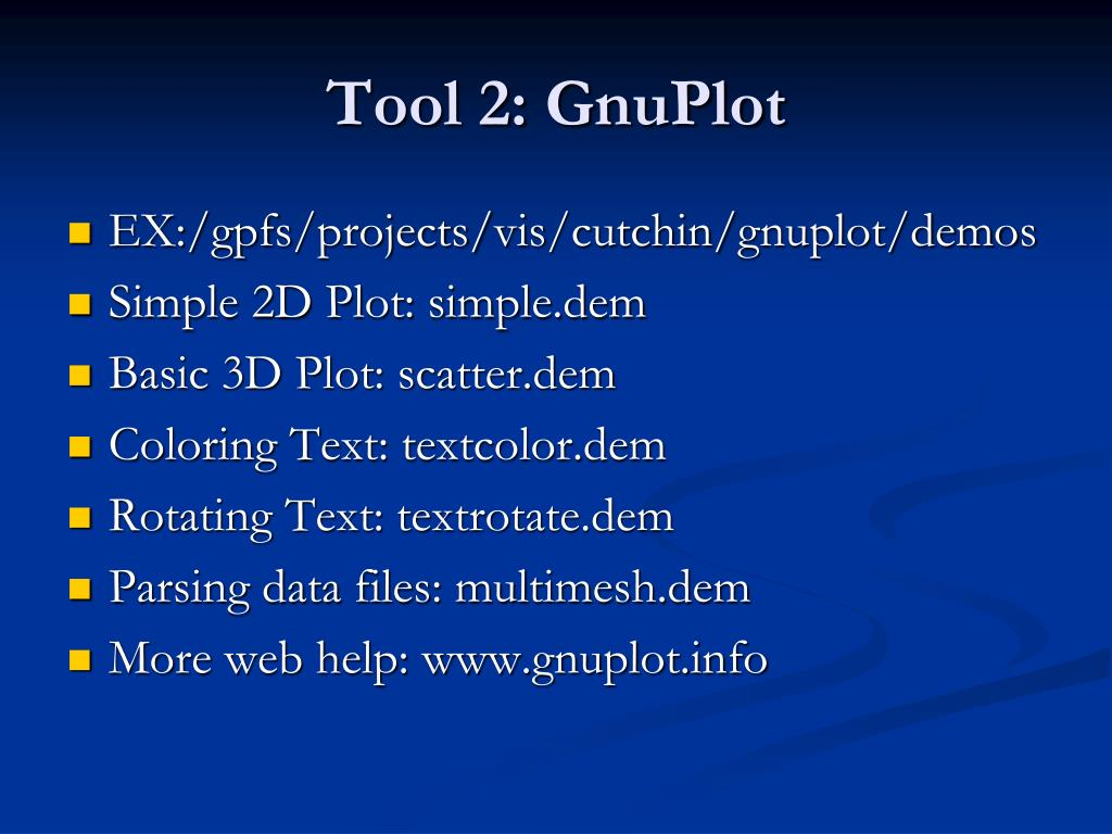 Tool 2: