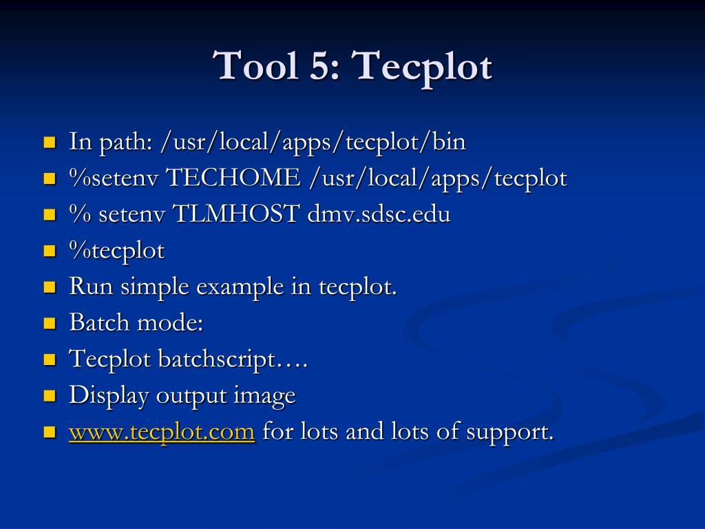 Tool 5: