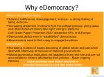 why edemocracy