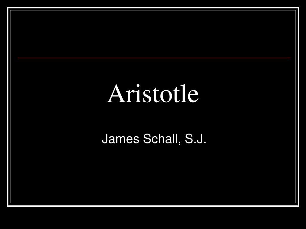 aristotle l.