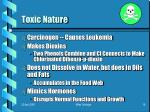 toxic nature