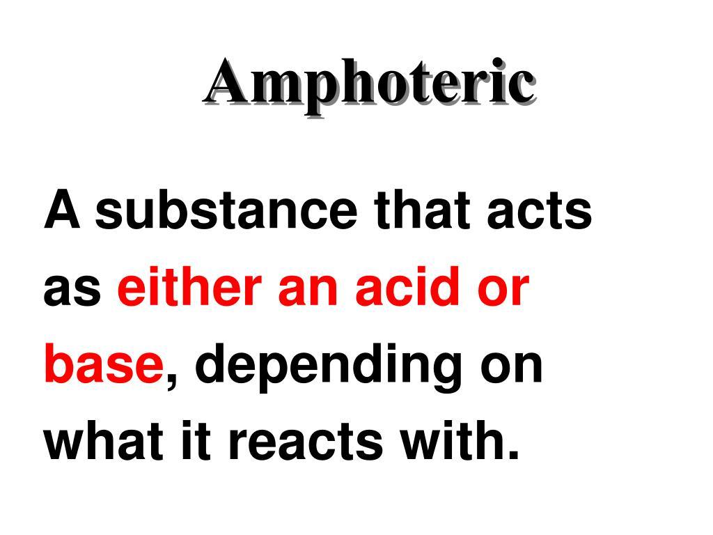 Amphoteric