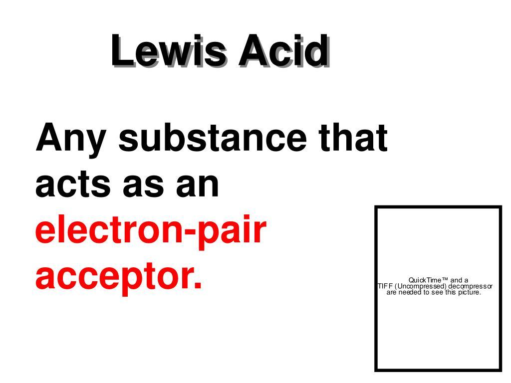 Lewis Acid