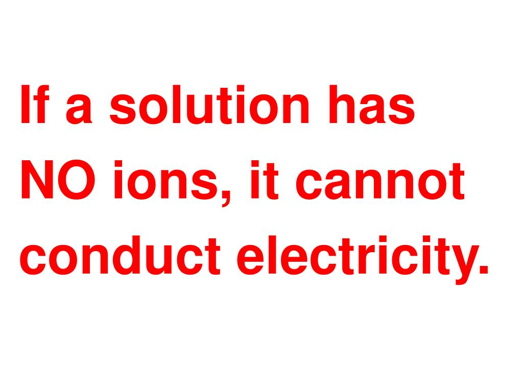 If a solution has