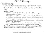 gd t history