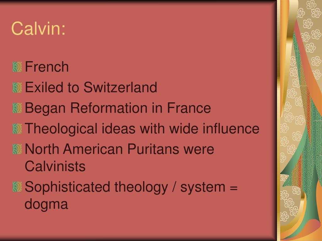 Calvin: