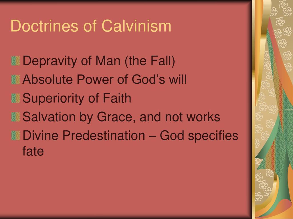 Doctrines of Calvinism