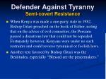 defender against tyranny semi covert resistance40