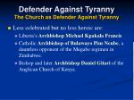 defender against tyranny the church as defender against tyranny37