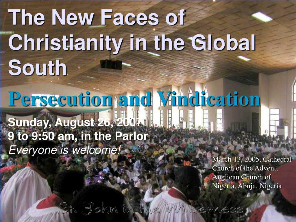 the new faces of christianity in the global south l.
