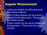 angular measurement2