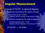 angular measurement7