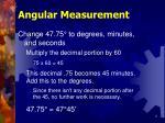 angular measurement8