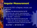 angular measurement9