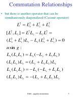 commutation relationships5