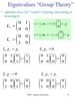 eigenvalues group theory15