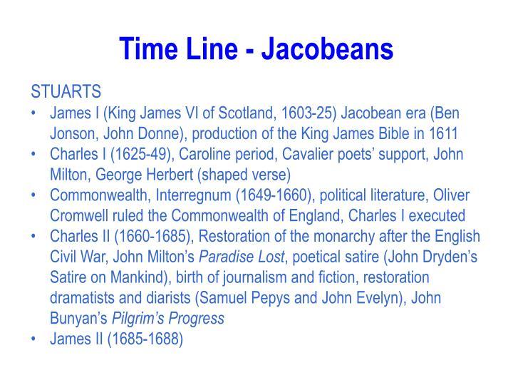 Time line jacobeans