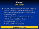 finale the scene
