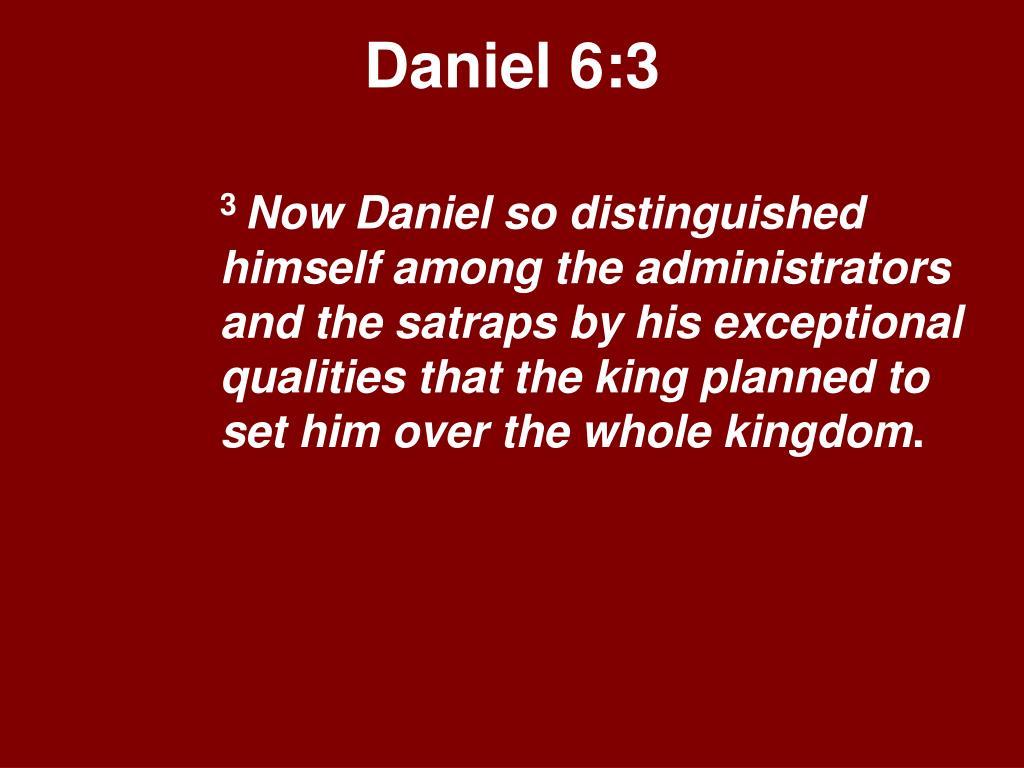 Daniel 6:3