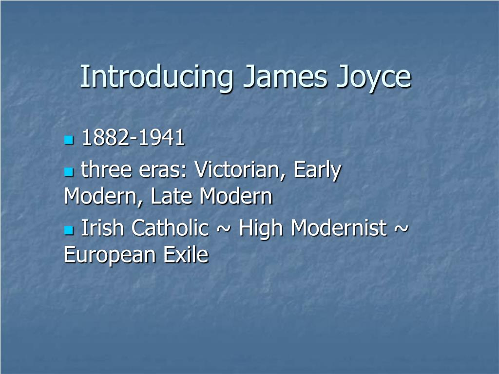 introducing james joyce l.