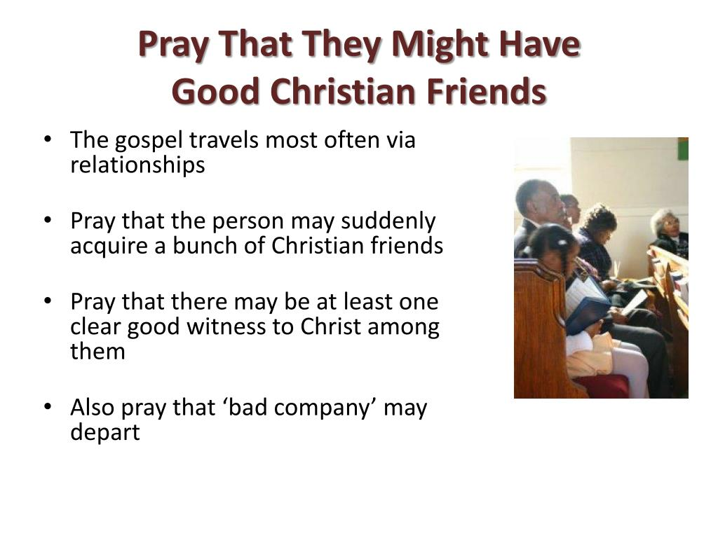 Pray That They Might Have