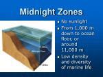 midnight zones