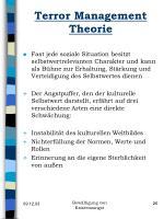 terror management theorie26