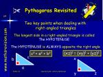 pythagoras revisited
