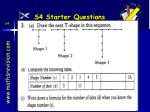 s4 starter questions17