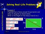 solving real life problems20