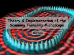 theory implementation of the scanning tunneling microscope