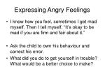 expressing angry feelings6