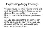 expressing angry feelings7