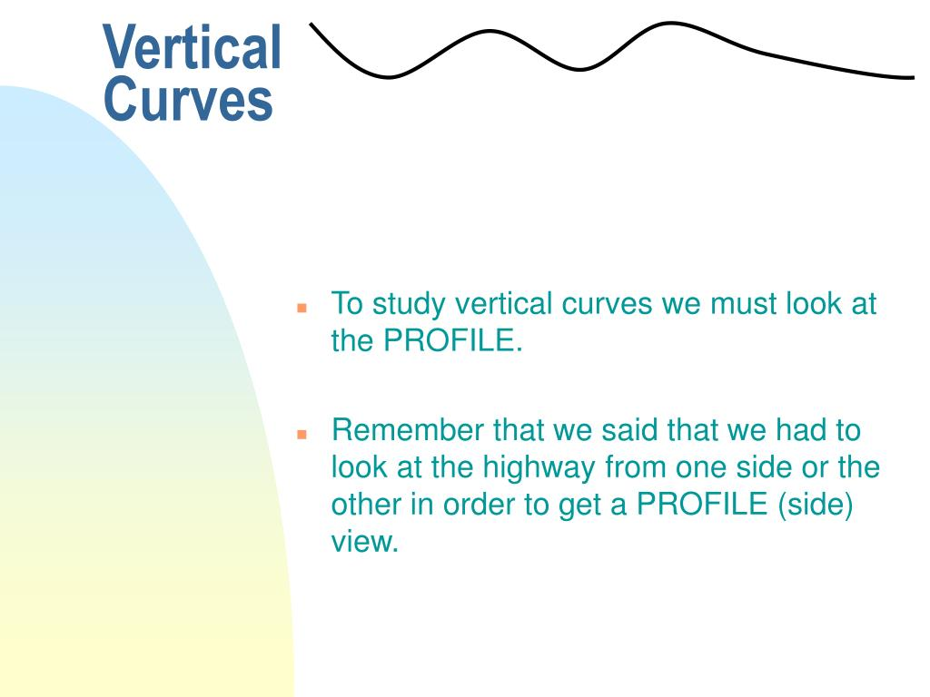 Vertical Curves