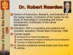 dr robert reardon