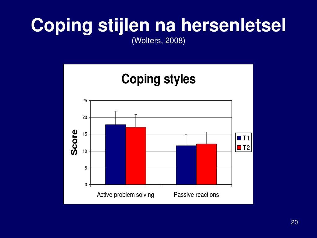 Coping stijlen na hersenletsel
