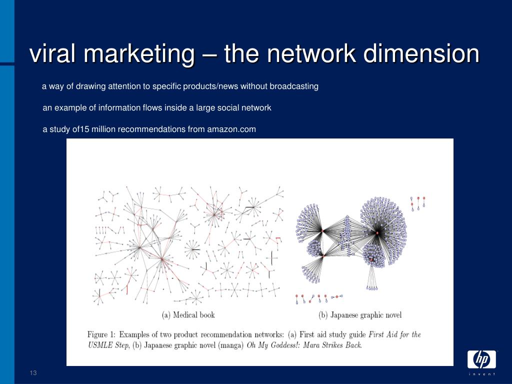 viral marketing – the network dimension