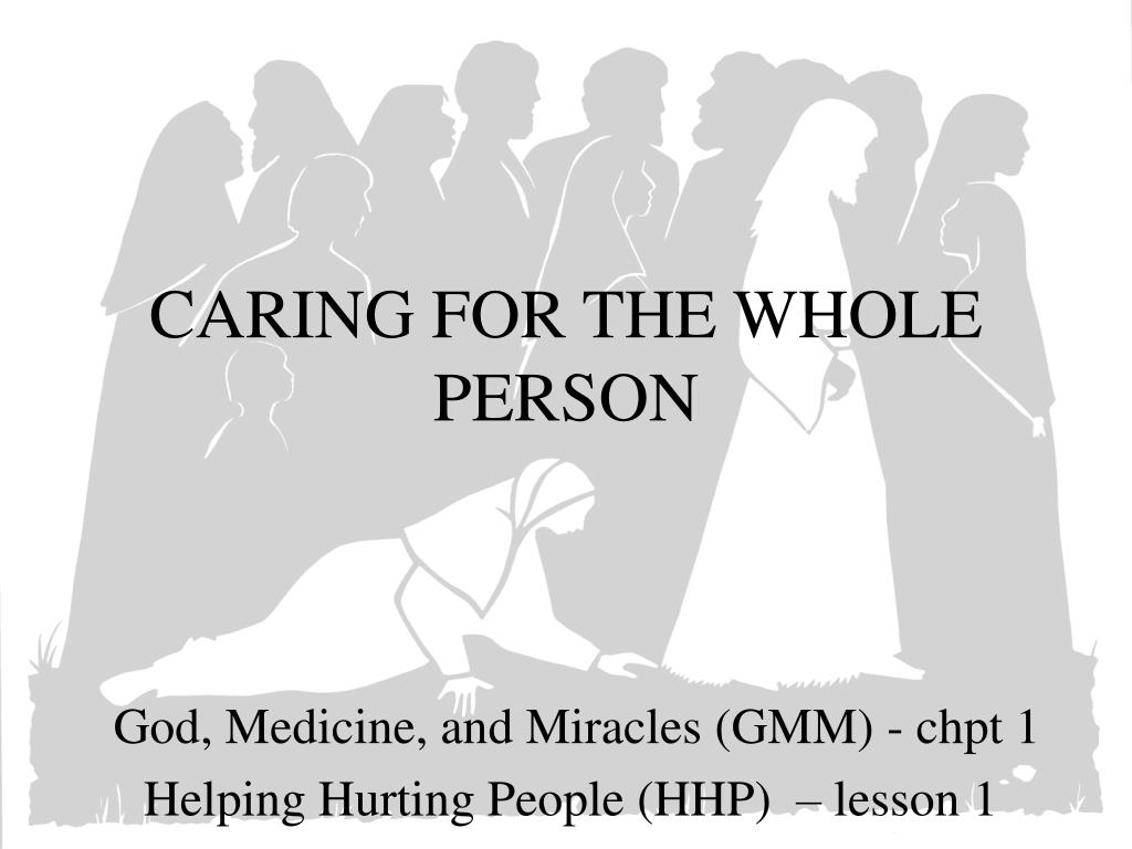 caring for the whole person l.