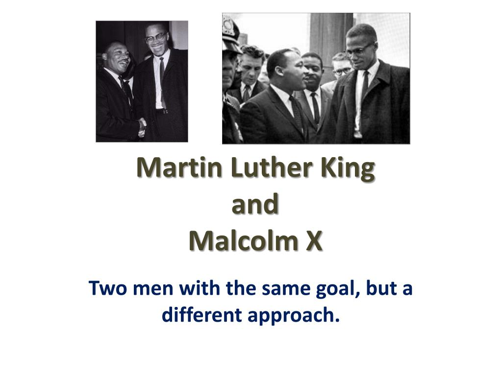 martin luther king and malcolm x l.
