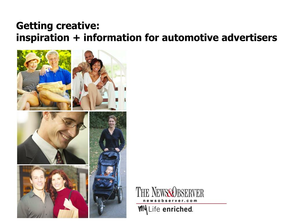 getting creative inspiration information for automotive advertisers l.