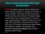 health care associated infections and microbes