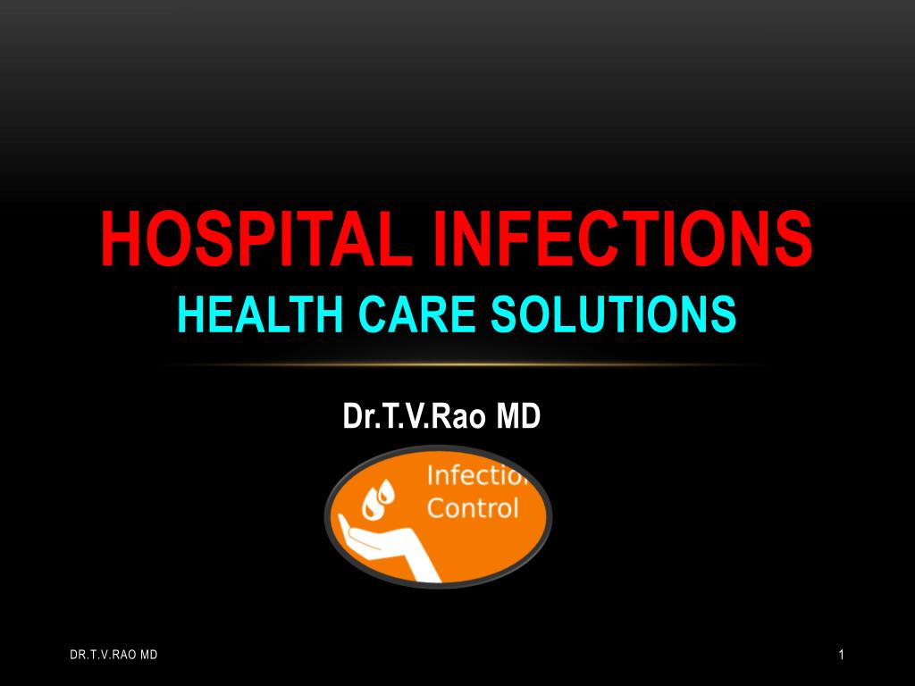 hospital infections health care solutions l.