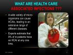 what are health care associated infections8