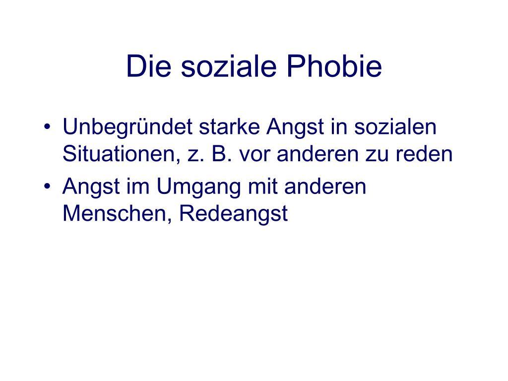 dlichvoitica: Forum soziale phobie