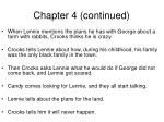 chapter 4 continued